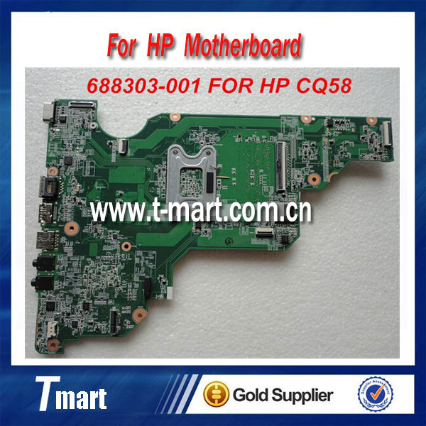 ФОТО for hp CQ58 688303-001 laptop motherboard AMD Integrated working well and full tested