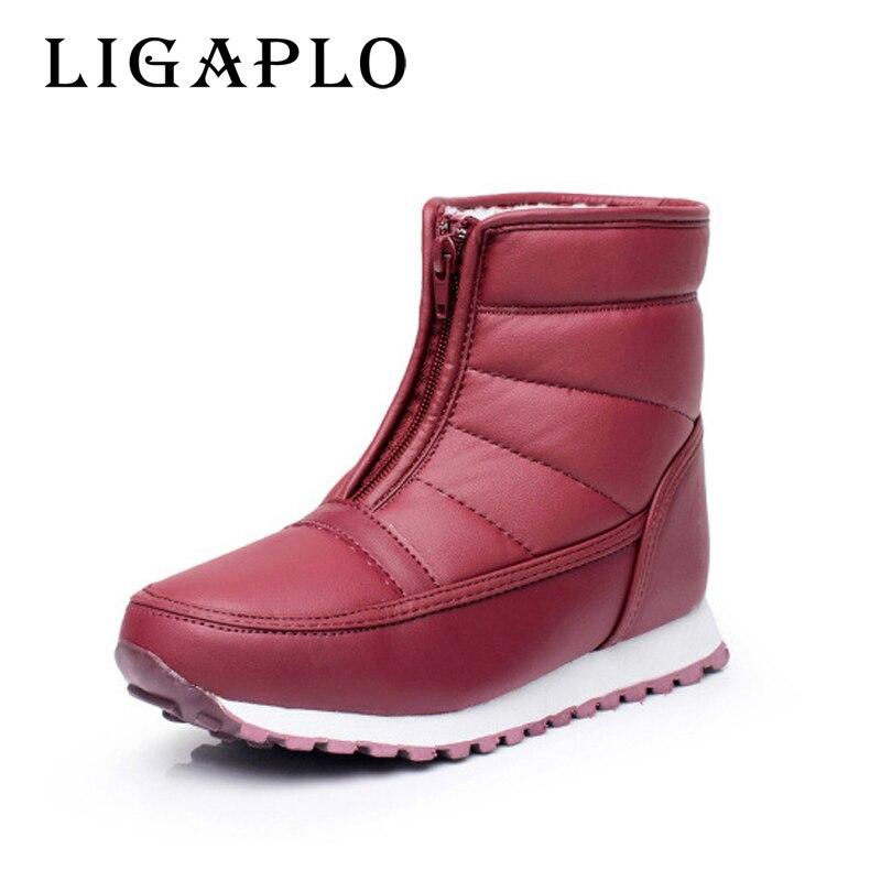 2017 autumn winter shoes mid calf black snow boots plush warm fur winter shoe plus size 35 to 45 brand shoes women boots рюкзак case logic 17 3 prevailer black prev217blk mid