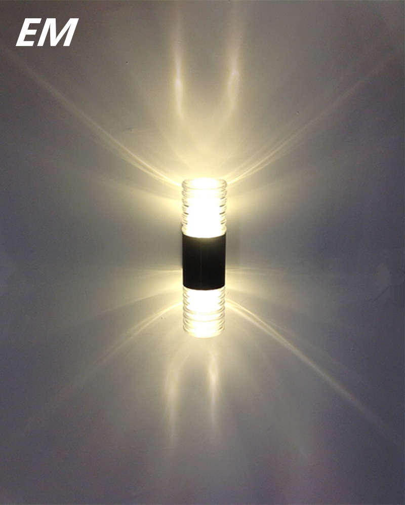 New Led Crystal Wall Lamp Led Wall Sconces Background