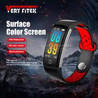 VERYFiTEK Q6 スマートバンド心拍数モニター腕時計血圧酸素リストバンド IP68 防水フィットネストラッカーブレスレット