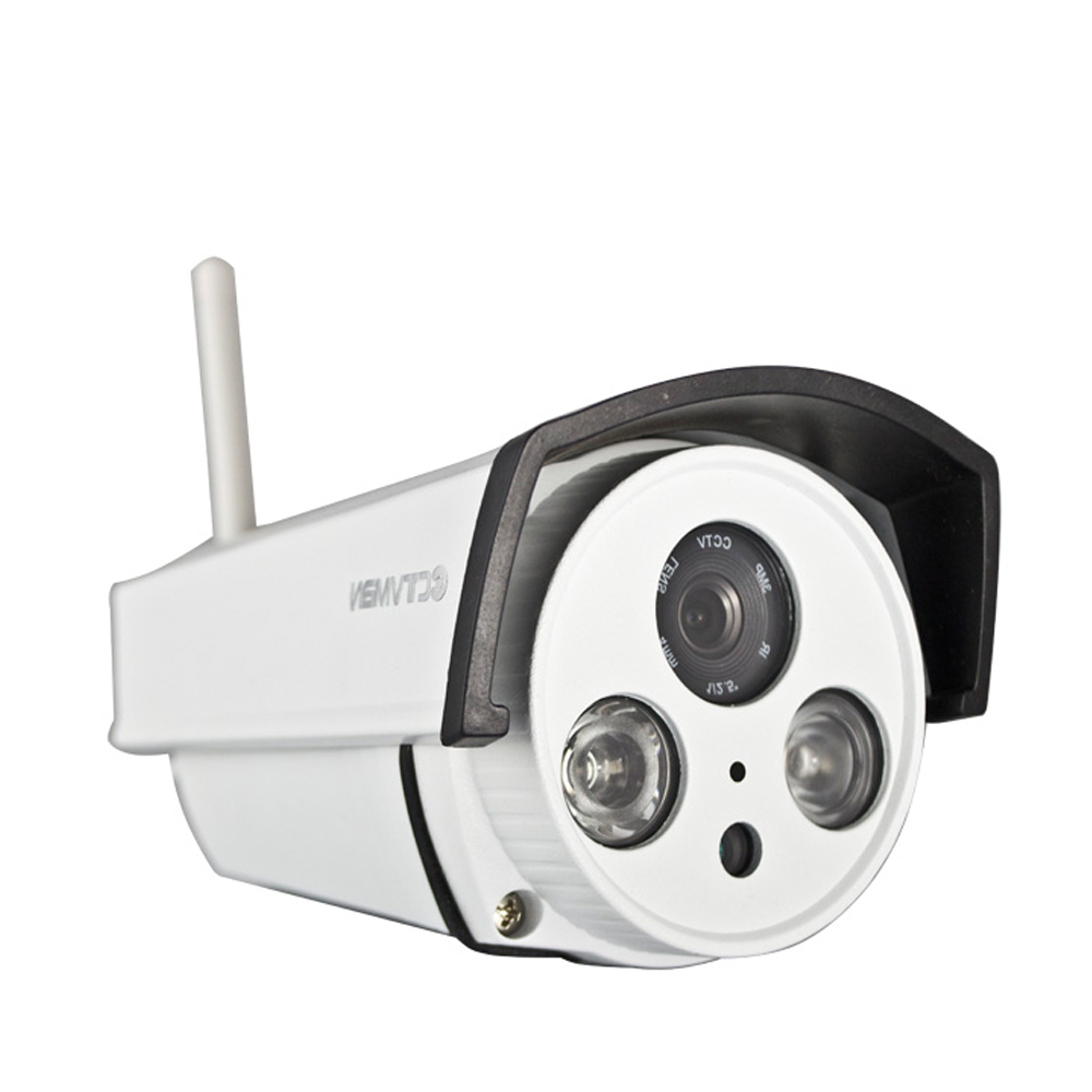 CTVMAN Wifi IP Camera Outdoor Wi-fi SD Card Slot 1080P Weatherproof Onvif LED Array Night Vision Security Surveillance P2P Cam легко пользоваться школа эз складочном np100 wifi sd кардридер специальный считыватель