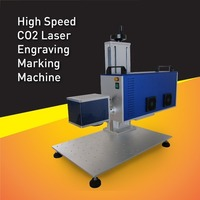 China Hot Sale High Speed Long life RF30W CO2 Laser Marking Machine For eggs,Big marking area can up to 300mm x 300mm
