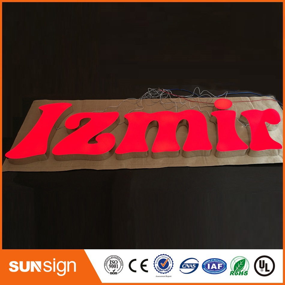 Aliexpress Led Sign Manufacturers Outdoors Illuminated Channel Letters