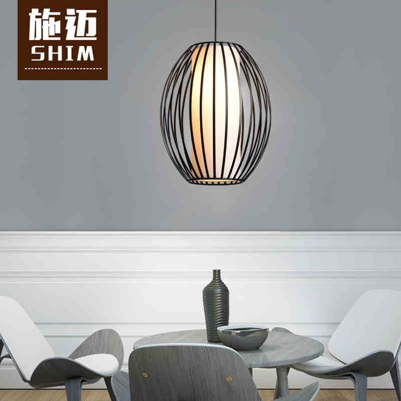 2016 new iron cage chandelier hotel restaurant hotel corridor balcony cage decorative lighting loft style metal cage ceiling lights hotel corridor creative ceiling lamps restaurant aisle balcony kitchen for home lighting