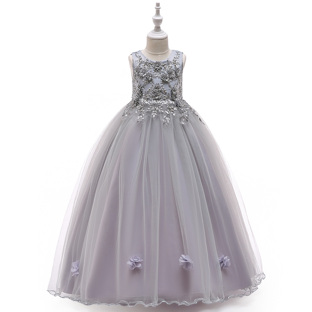 High Low Cloud Little   Flower     Girls     Dresses   for Weddings First Communion   Dress   for   girls   Kids Evening Gowns Prom   Dress   2019