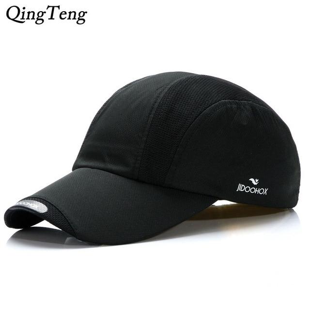 Primavera Verano ligero algodón transpirable Gorras de béisbol Rojo Negro  Blanco sombrero de Red Snapback deportes e6172317896