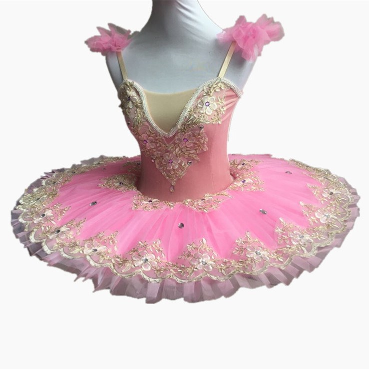 Pink Ballet Dance Dress Women Adult Professional Ballet ...