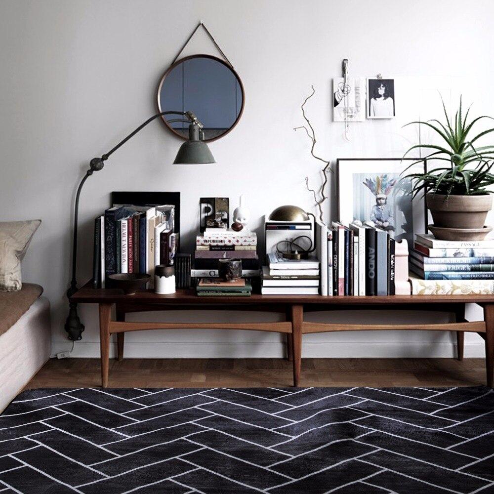 room room brief geometric modern design area rugs bedroom area rug mat
