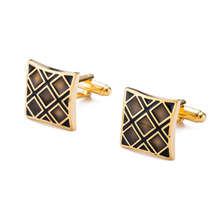 Hot Selling Enamel Cufflinks AAA Quality Gemelos Lawyer Groom Cuffs Men Shirt Cuff Links 10128