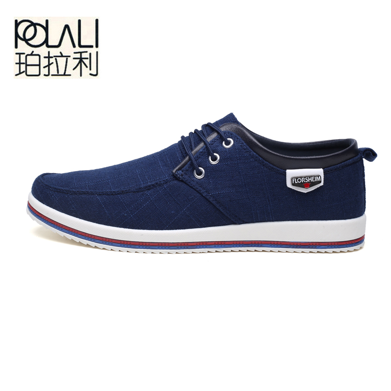 Polali 44 Tendance Jeunesse Top Taille De 45 Respirant Mode up Style Noir La Étudiante Chaussures Hommes Toile 47 bleu Grande 46 Dentelle gris Casual Ygyb76fv