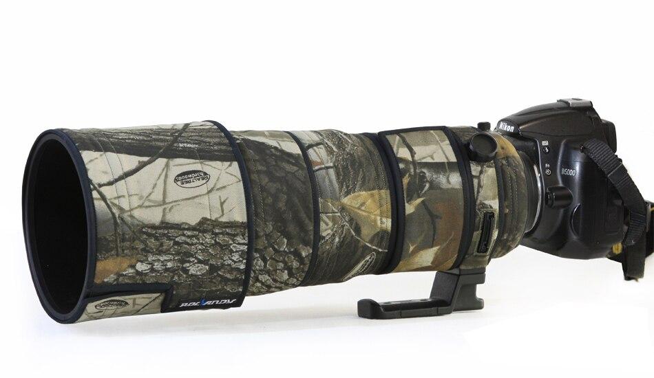 ROLANPRO Lens Camouflage Rain Cover for Nikon AF-S 300mm f/2.8 G ED VR Anti-shake I and II Compatible lens Protective Sleeve конвертер nikon tc 17e ii af s