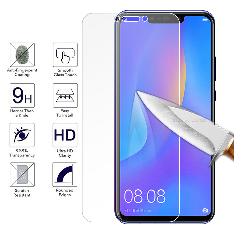 Tempered Glass Film For Huawei Mate 20 10 P20 Lite Nova 3 3i 2S P Smart Mate 20X P20 with White Edge Eliminate Revising Liquid(China)