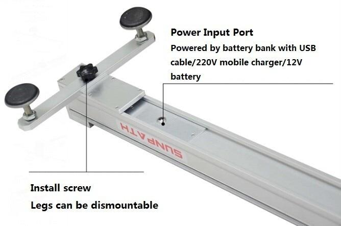 SUNPATH 1 מטר ממונע מצלמה מחוון מנוע dslr vide דולי לאתר