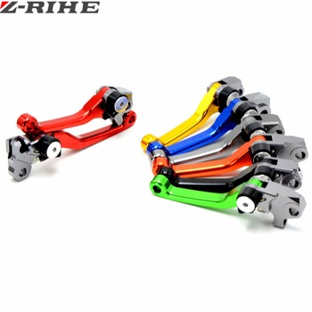 CNC Pivot Foldable Clutch Brake Lever Dirt Bike Off Road For HONDA CRF250R CRF450R CRF 250R 450R 2007 2008 2009 2010 2011-2018 image