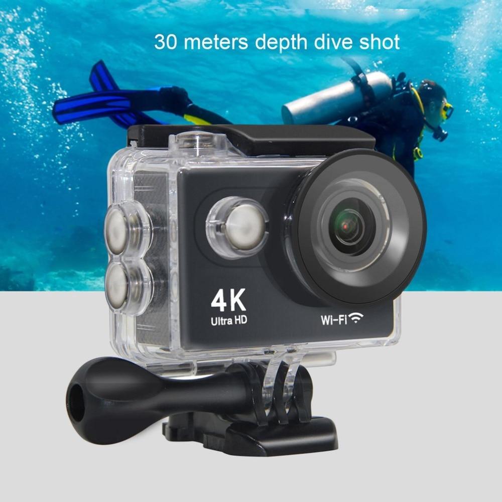 Original H9 Action Camera 4K Ultra HD 1080p/60fps Mini Helmet Cam WiFi 2.0 170D Waterproof Sport Camera wimius 20m wifi action camera 4k sport helmet cam full hd 1080p 60fps go waterproof 30m pro gyro stabilization av out fpv camera