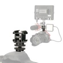 Ulanzi 0951 PT-3 S Крепление-адаптер для горячего башмака с креплением BY-MM1 микрофона мини светодиодный светильник для DSLR камеры для Canon для Nikon