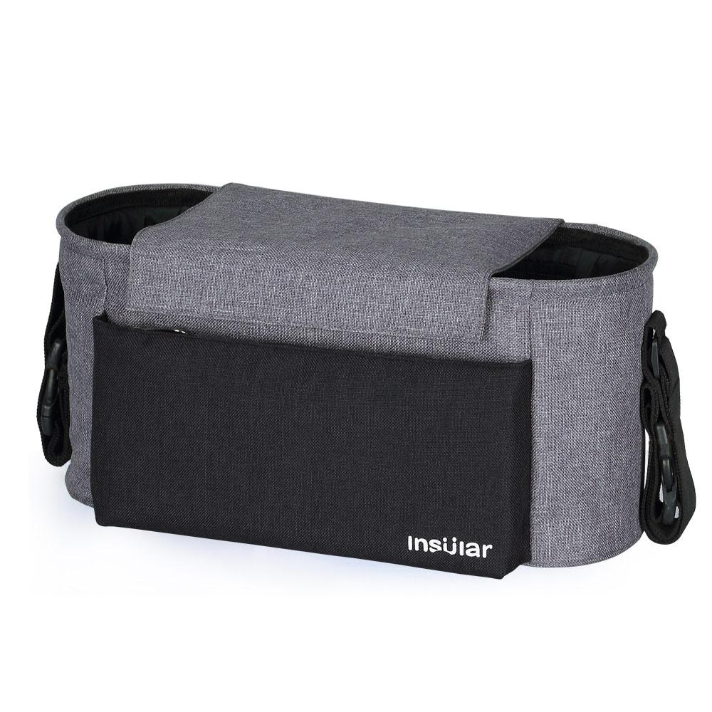 Insular marque bébé sac à couches multi-fonctionnel maman Nappy poussette sac mode bébé suspendus rangement organisateur sac pour les soins de bébé
