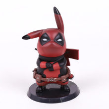 Deadpool/Capitão América Mini PVC Figura Collectible Modelo Toy Boneca Presente(China)