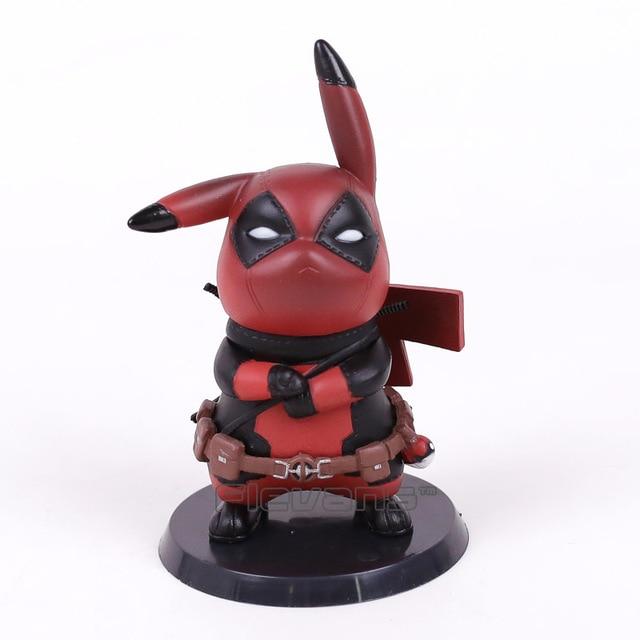 Pikachu Cos Deadpool / Captain America Mini PVC Figure