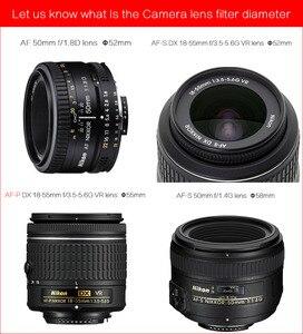 Image 5 - อลูมิเนียมกล้องเลนส์ Macro Reverse Adapter สำหรับ Nikon AI ถึง 49 มิลลิเมตร 52 มิลลิเมตร 55 มิลลิเมตร 58 มิลลิเมตร 62 มิลลิเมตร 67 มิลลิเมตร 72 มิลลิเมตร 77 มิลลิเมตรด้าย