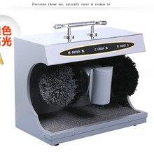 Оборудование для полировки обуви машина автоматическая индукция с Чистка обуви machin хороший