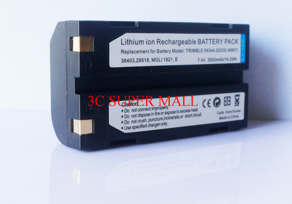 New Trimble 7.4v/2400mAh Li-Ion Battery For 5700 5800 R8 R7 R6 R8 GNSS GPS 2400mah battery for trimble 5700 5800 r7 r8 54344 mt1 rechargerable battery