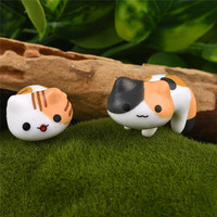 Fantasy Cartoon Cute 6pcs/ set Cat Fairy Garden Decoration Crafts Home Decor Fashion Micro Landscape Miniature Figurines 3