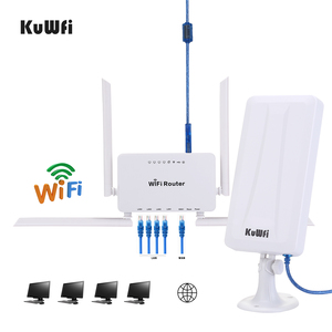 Image 2 - KuWFi 300mbps راوتر لاسلكي + مكاسب عالية واي فاي USB محول 300Mbps عالية الطاقة موزع إنترنت واي فاي مجموعة واحدة تمديد إشارة واي فاي حصة 32 المستخدمين