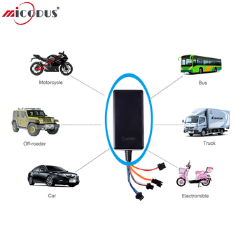 50PCS/Lot Car GPS Tracker Remote Cut off Oil Power Voice Monitor 9-36V Google Map Vehicle Locator GT06N SOS Alarm ACC Detection