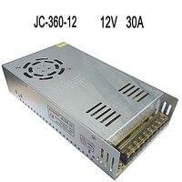 1Pcs 30A 360W LED Driver Supply 100V 240V AC To DC 12V Switch Power Supply Adapter