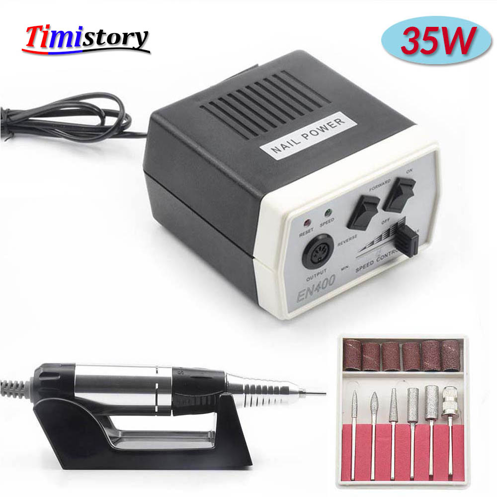 Forceful 35w 30000rpm Electric Nail Drill Machine High Quality Nail Art Equipment Manicure Machine Accessory Nail File Nail Drill Tool Pure And Mild Flavor Nails Art & Tools