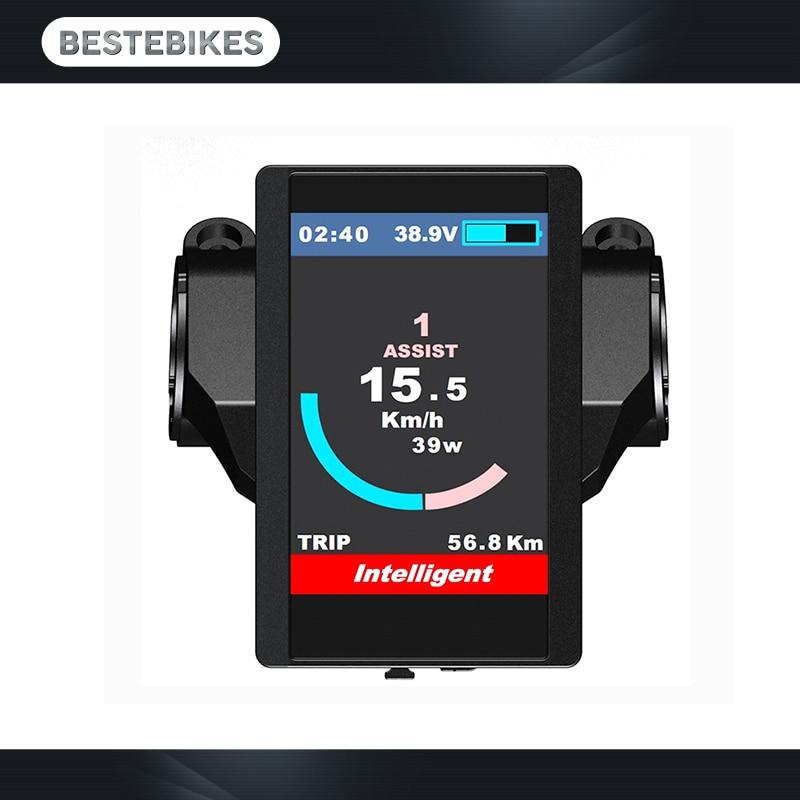 8fun бафане экран 850c по красочным дисплеем для eletric велосипеды велосипеды bbs01 bbs02 bbshd мотор Сделай сам электровелосипед электровелосипед новых экранов