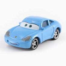 Disney Pixar-Coche de juguete de Metal fundido a presión, nueva marca en Stock, Disney Cars 2 y Cars 3, 1:55, envío gratis