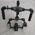 New 3-Axis DSLR Camera Carbon Brushless Gimbal Handle/Stabilized Mount steadycam Run Movie Photography frame (only for a frame)