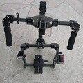 Nueva ejes DSLR cámara Carbon Brushless cardán mango / estabilizado steadycam Run película Photography ( sólo for un marco )