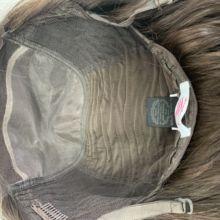 Моно Топ, европейские девственные волосы, необработанные волосы легкая волна еврейский парик, Кошерный парик лучшие ножницы