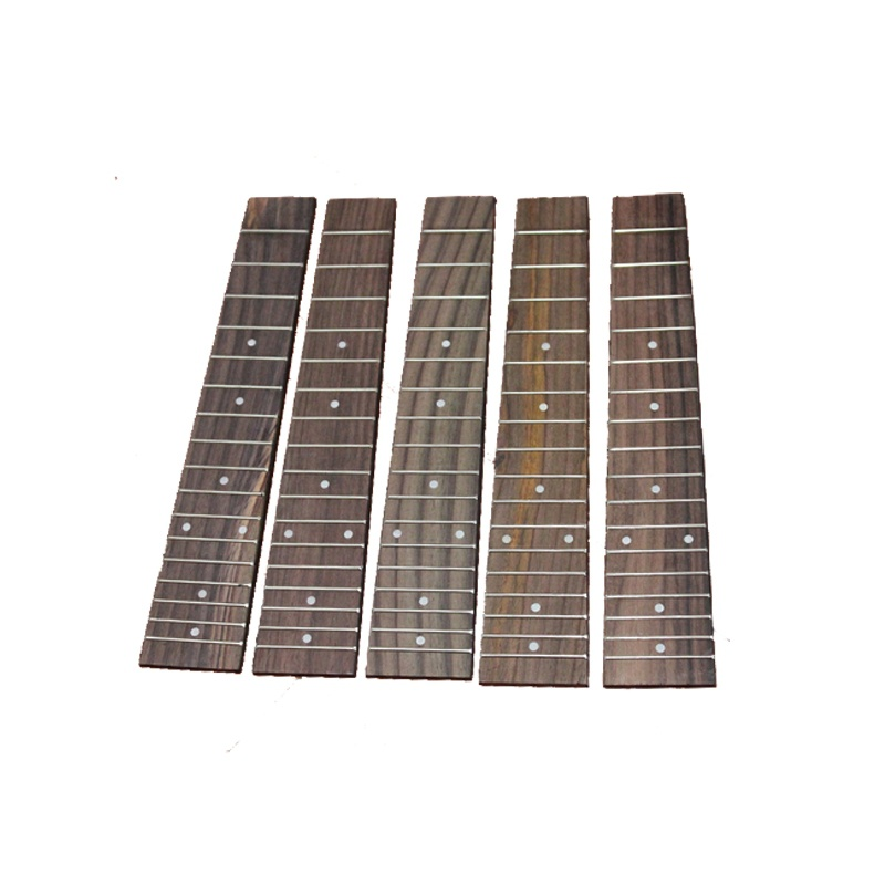 Guitar Parts & Accessories 5pcs 23 Ukulele Fingerboard W/pearl Inlay For Concert Ukulele W/17 Fret New Comfortable And Easy To Wear