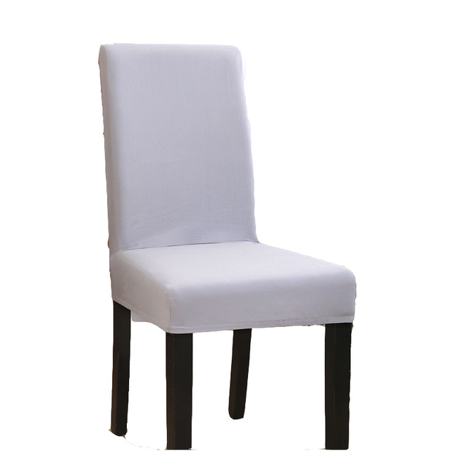 1 Pc Elastic Chair Cover Home Dining Chair Covers Universal Stretch Spandex Elastic Cloth
