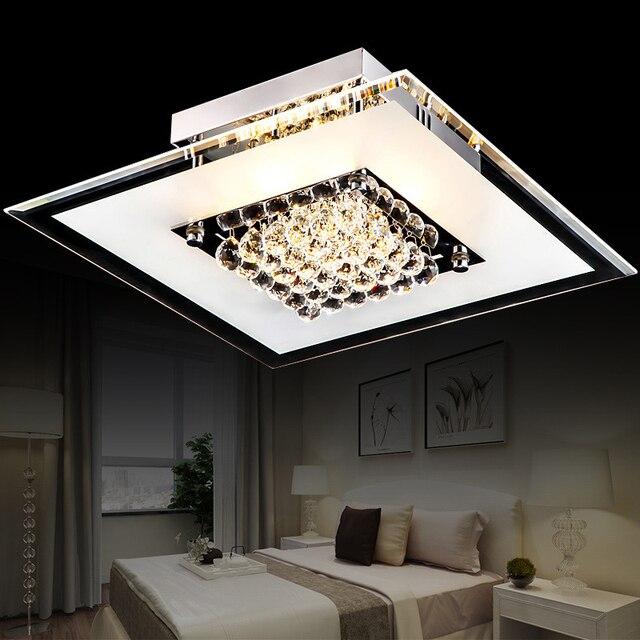 Kamers zijn ronde LED glas kristal Plafond Verlichting nieuwe ...