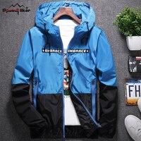Speed Hiker 2017 New Men Jacket Men Apparels Autumn Outside Windbreakers Waterproof Coat Jaqueta Masculino Size