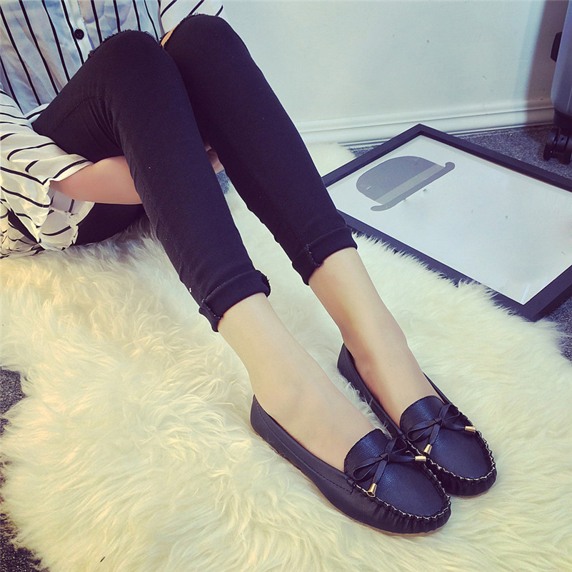 2017 new brand  Summer& spring  Women Flats Shoes hot sale on Casual Shoes gift wholesale kbstyle 2017 new spring shoes for women brand pointed toe womens flats fashion young ladies casual shoes hot sale wholesale