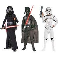 Star Wars Cosplay Storm Trooper Darth Vader Anakin Skywalker Children Cosplay Costume Clothing Halloween Costume For