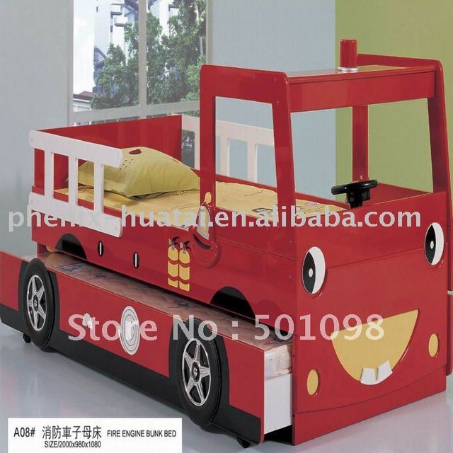 aliexpress : buy 2011 mdf fire truck child bunk bed from