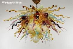 Darmowa wysyłka promocja urocze szkło projekt oświetlenia w Żyrandole od Lampy i oświetlenie na