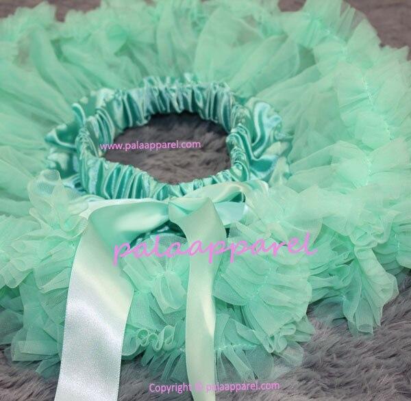 Новорожденный фотографии реквизит ребенка юбка для девочек юбки Pettiskirts шифоновое летнее одежда для малышей - Цвет: Turquoise
