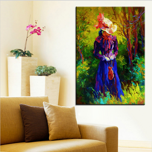 Large Size Printing Oil Painting Jessica Wall Painting Steampunk Wall Art  Picture For Living Room Painting