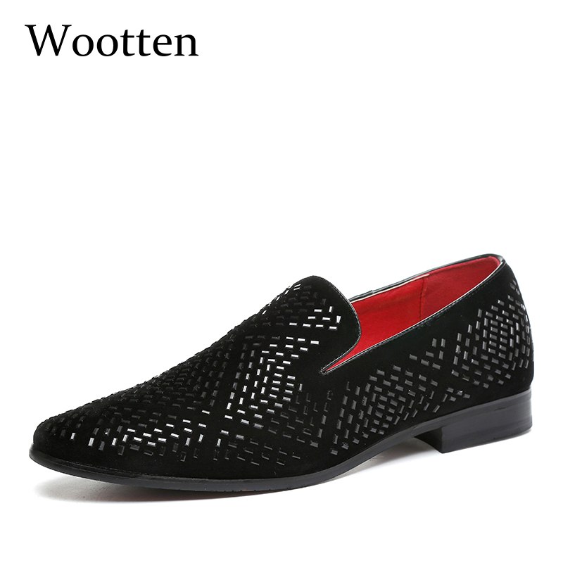mens shoes casual plus size adult fashion social brand driving luxury dress designer loafers #102 цена