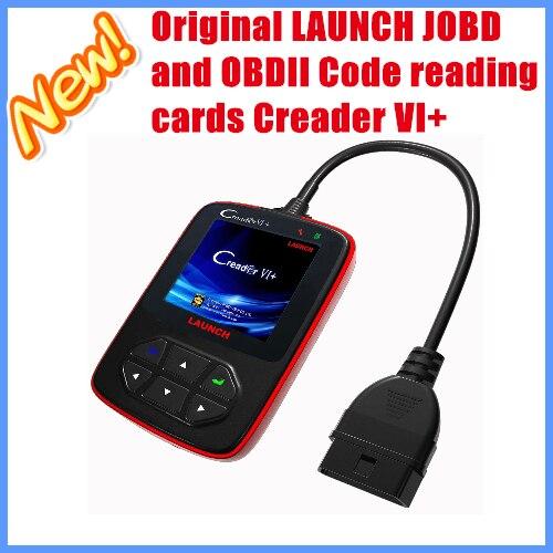 New Arrival 100% Orignal LAUNCH OBD/EOBD/JOBD Code Reader Creader VI+ update via offical website free shipping