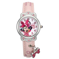 Children's Watches Disney brand cartoon children girls watches Minnie mouse sofia princess leather quartz students girl clocks