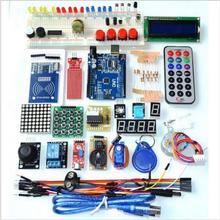 Обновленная расширенная версия стартовый набор RFID Обучающий набор ЖК 1602 для Arduino UNO R3